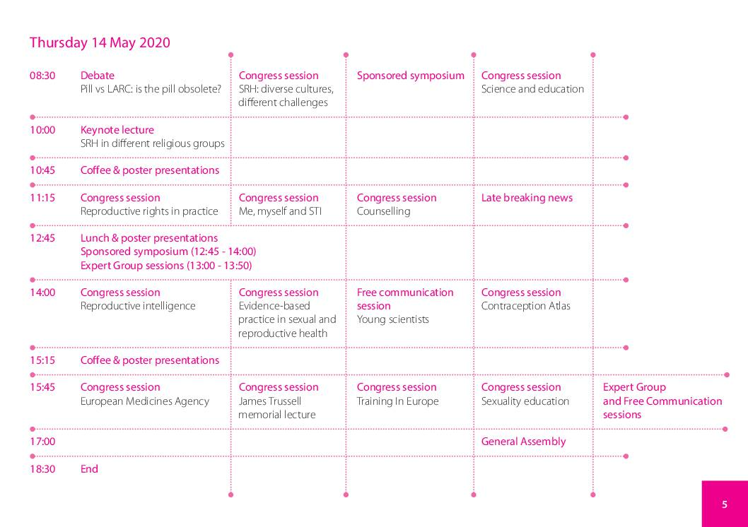 ESC-Dublin-programme-overview