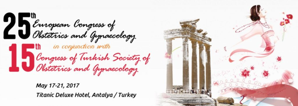 25th EBCOG Congress in conjunction with 15th Congress of Turkish Society of Obstetrics and Gynecology
