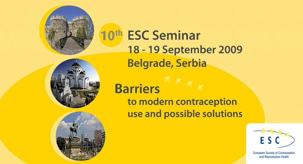 10th ESC Seminar