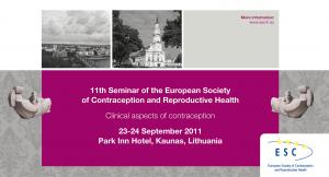 11th ESC Seminar